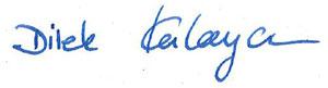 Unterschrift Dilek-Kalayci
